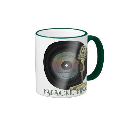 Karaoke King Personalized Drinkware Mug