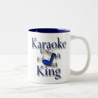 Karaoke King Two-Tone Coffee Mug