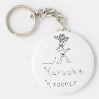 Karaoke Krooner Llavero