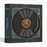 "Karaoke LP Vinyl Record  1"" Avery Binder"