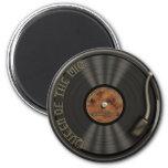 Karaoke LP Vinyl Record Magnet