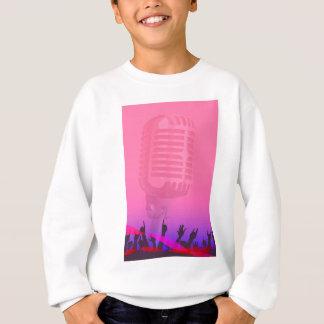 Karaoke Night Audience Poster Sweatshirt