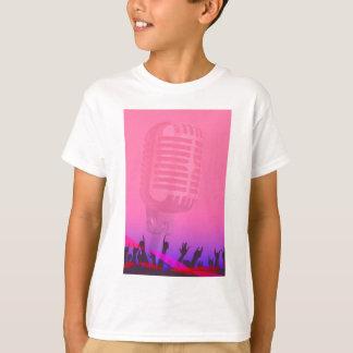 Karaoke Night Audience Poster T-Shirt