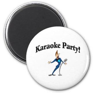 Karaoke Party (2) Magnet