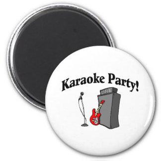 Karaoke Party Magnet