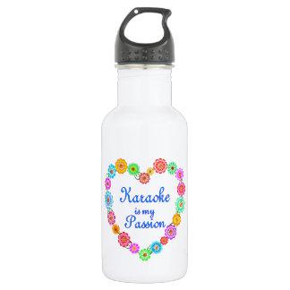 Karaoke Passion Stainless Steel Water Bottle