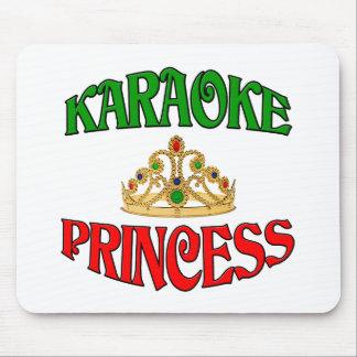 Karaoke Princess. Mouse Pad