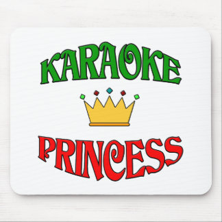 Karaoke Princess Mouse Pad