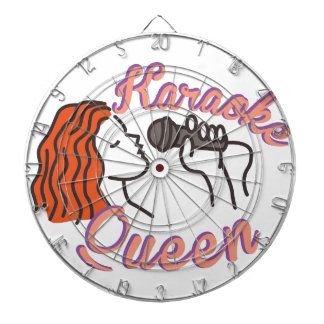 Karaoke Queen Dart Board
