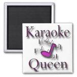 Karaoke Queen Fridge Magnet