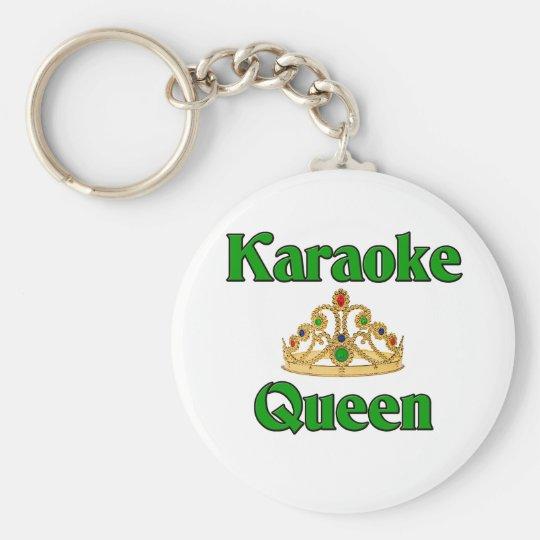 Karaoke Queen Keychain