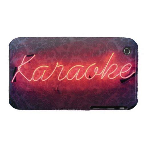 Karaoke Sign iPhone 3 Case-Mate Cases