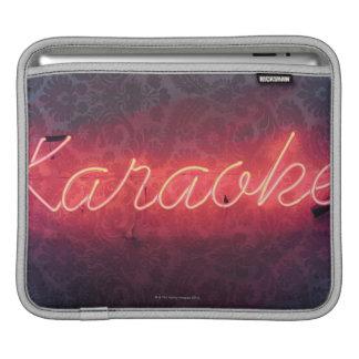 Karaoke Sign iPad Sleeves