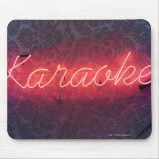 Karaoke Sign Mouse Pad