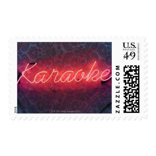 Karaoke Sign Postage