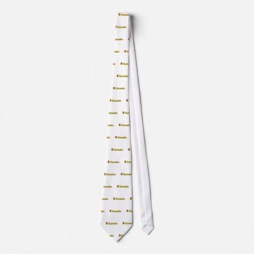 (Karaoke verde oliva del amor de I) Corbatas Personalizadas