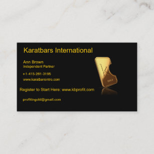 International business cards zazzle karatbars international business card colourmoves