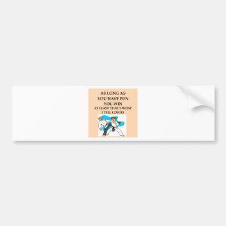 karate2 png etiqueta de parachoque