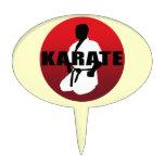 KARATE 1 ケーキトッパー