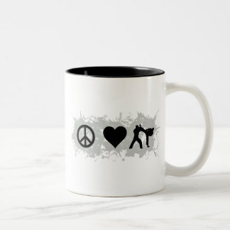 Karate 2 Two-Tone coffee mug