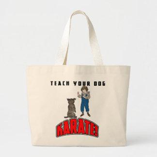 Karate 4 del perro bolsa de mano