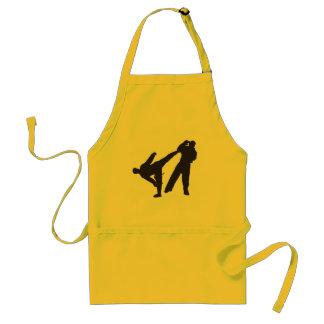 karate adult apron