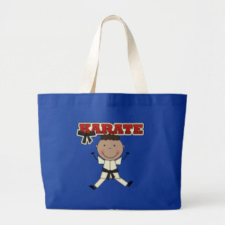 KARATE - African American Boy Tshirts and Gifts Tote Bags
