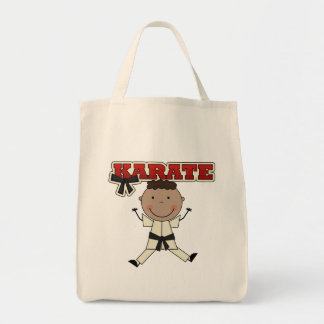 KARATE - African American Boy Tshirts and Gifts Canvas Bags