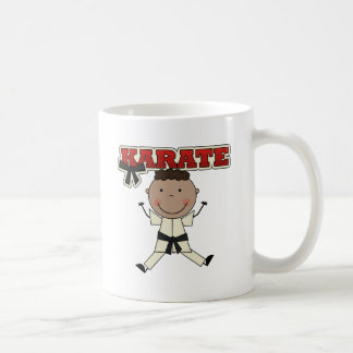 KARATE - African American Boy Tshirts and Gifts Classic White Coffee Mug