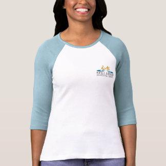 Karate-afronte/camisetas trasero del raglán de la playeras