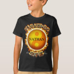 Karate-afronte las camisetas del niño