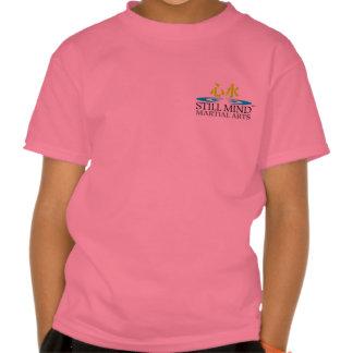 Karate-afronte/las camisetas del niño