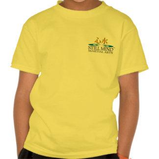 Karate-afronte/las camisetas del niño playeras