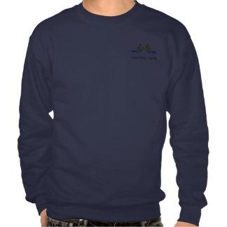 Karate-afronte/las camisetas oscuras traseras pulover sudadera