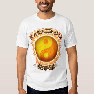Karate-afronte las camisetas sin mangas del