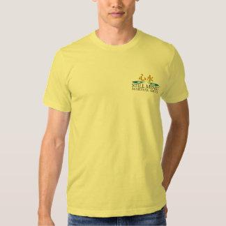 Karate-afronte/las camisetas traseras playeras