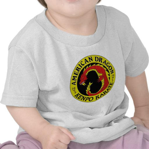 Karate americano de Kenpo del dragón Camisetas