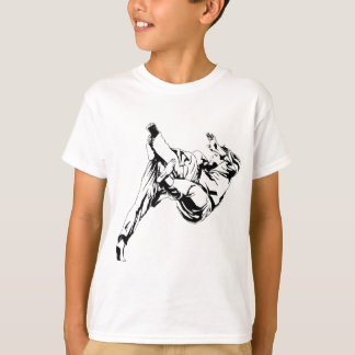 Karate and a judo. Technics of throws T-Shirt