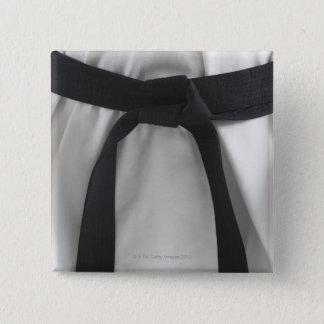 Karate black belt button