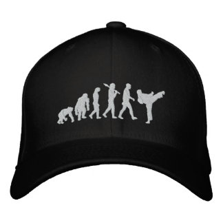 karate black belt martial arts martial artist fans embroidered baseball hat