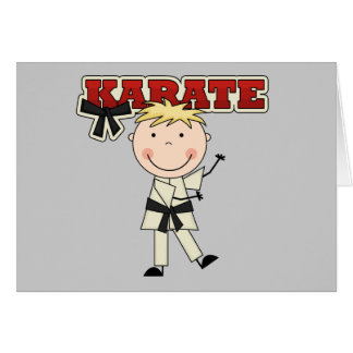 KARATE - Blond Boy Tshirts and Gifts Card