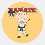 KARATE - Blond Boy Tshirts and Gifts Sticker
