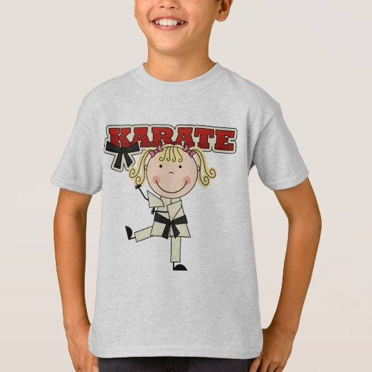 KARATE - Blond Girl T-shirts and Gifts