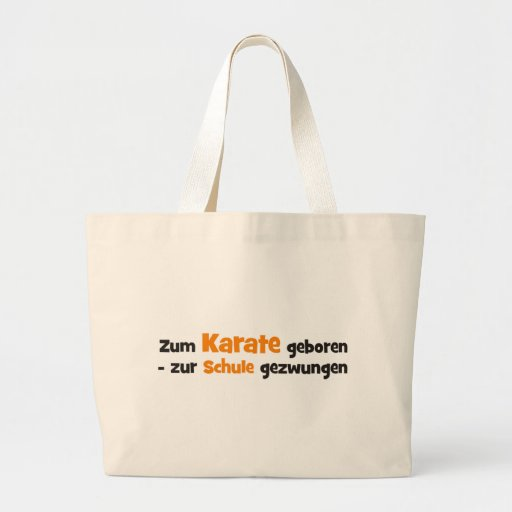 Karate Bolsa Lienzo