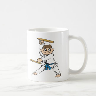 Karate-Boy Classic White Coffee Mug