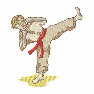 Karate Boy Embroidered Jackets