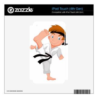 KARATE BOY iPod TOUCH 4G SKIN