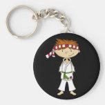 Karate Boy Keychain