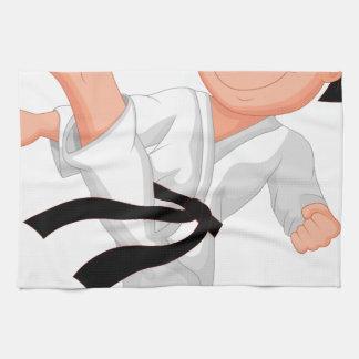 KARATE BOY KITCHEN TOWELS