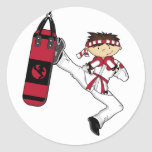 Karate Boy Sticker Sheet